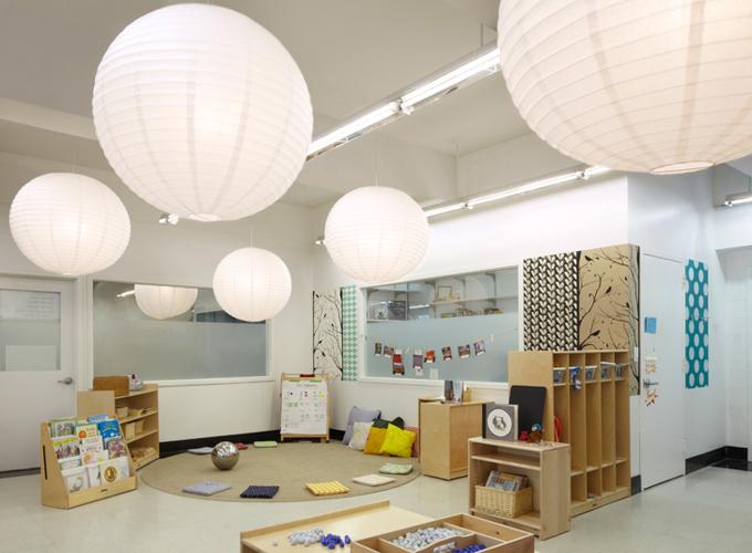 Modern School Classroom