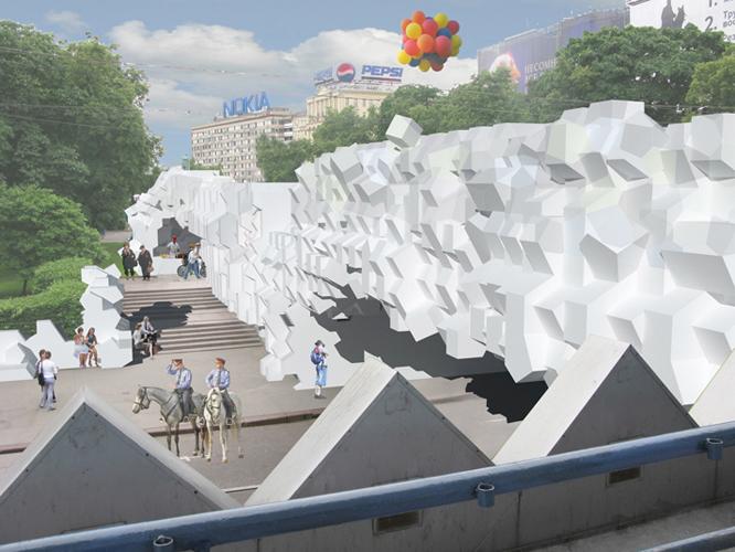 Pushinksy Cinema Installation Competition