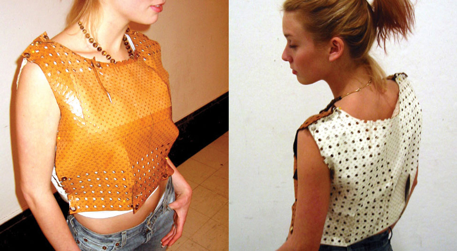 Laser Cut Clothes Installation