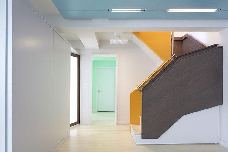 Modern Apartment Renovation, Modern Interior Stair