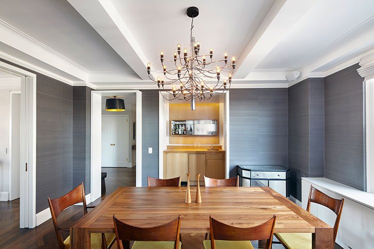 Modern Apartment Renovation Dining Room