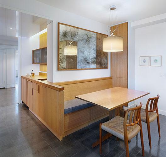 Modern Apartment Renovation Kitchen