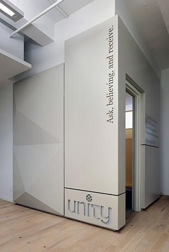 Prayer Room enclosure, Unity of New York