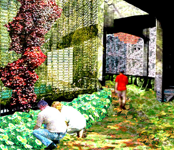 High Line Interior Rendering