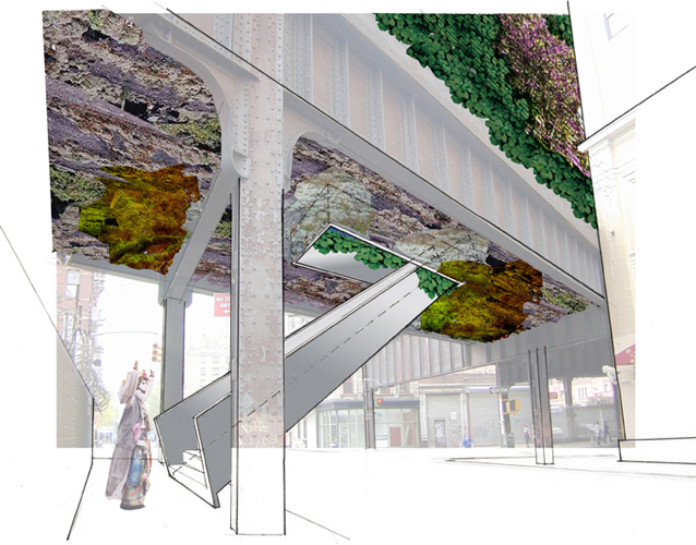 High Line Entrance