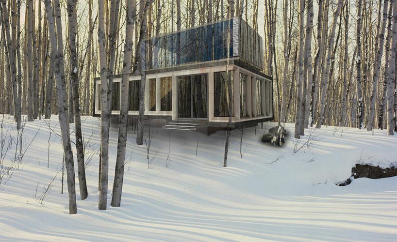 Modern House Exterior Rendering